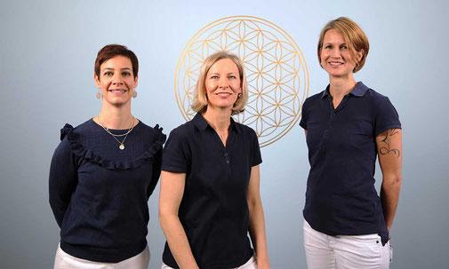 Physio & KomplementärTherapie, Aarau - Nadja Dell'Oso, Kirsten Pohlmeyer Butscher, Isabelle Parreno-Zihlmann