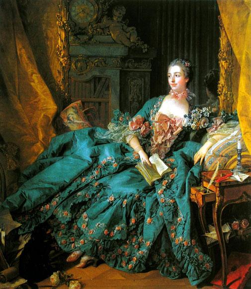 """François Boucher, """"Marquise de Pompadour"""""""