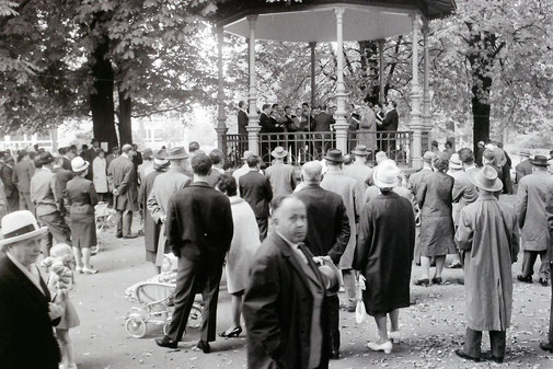 Krefelder Stadtpark Saison-Abschlußkonzert |Pressefoto Lengwenings | 01.10.1962