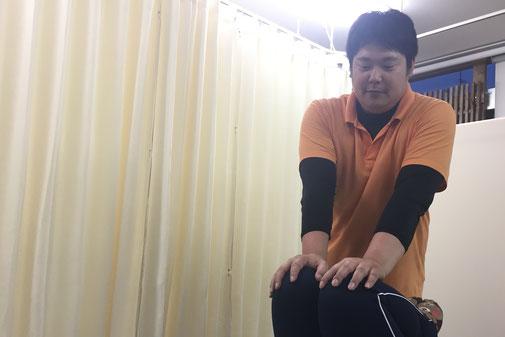 松山市あさひ整体院産後の骨盤矯正は、筋肉の作用を利用して骨盤を元の状態に整えていきます。