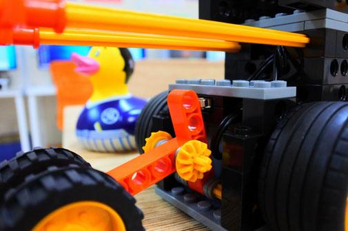 大分のロボット教室|段差検知前の状態