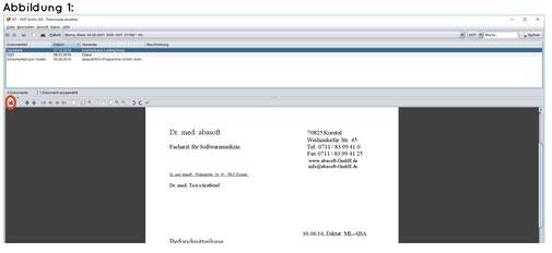 abasoft EVA Praxissoftware Arztsoftware Arzt Praxis Arztpraxis Archiv EVA Archiv