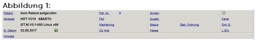 abasoft EVA Praxissoftware Arztsoftware DMP Gültigkeit bei Quartalswechsel