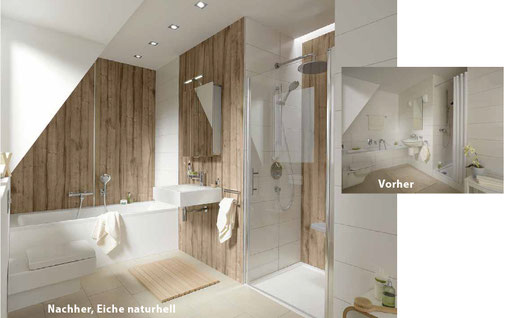 fugenlose wandverkleidung dusche 28 images dusche. Black Bedroom Furniture Sets. Home Design Ideas