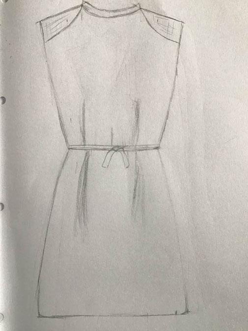 Robe courte Noëlle
