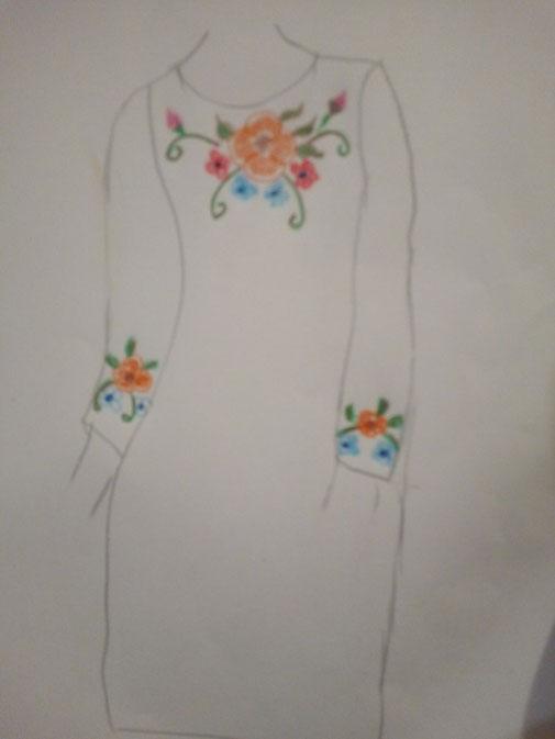 Robe longue Carla