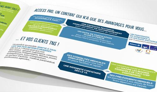 LSZ Communication - Graphiste - Directrice artistique freelance Nantes - #lepetitoiseaudelacom - Ciprés Vie - Grossiste assurance - mailing - Dépliant - Agence Caribou