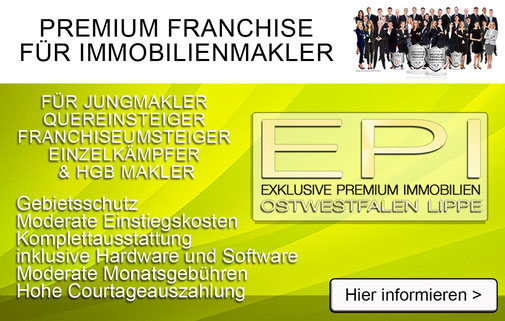 IMMOBILIEN FRANCHISE IMMOBILIENFRANCHISE MAKLER FRANCHISEUNTERNEHMEN FRANCHISING IMMOBILIENMAKLER WERDEN IHK EXISTENZGRÜNDUNG SELBSTÄNDIGKEIT