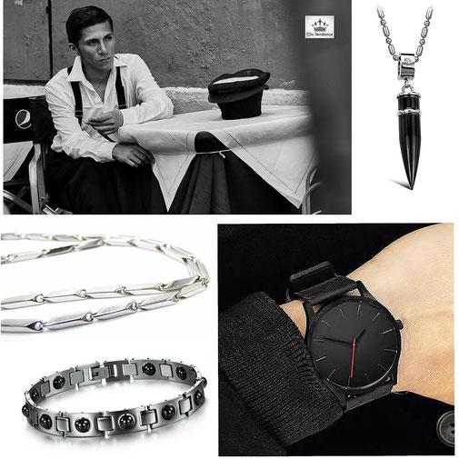 Accessoires de mode homme - et montre de marque pas cher