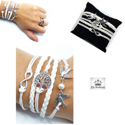 bracelet femme solde et fin de serie bijou fantaisie pas cher