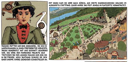 Pauline Grossmuter des Märchenmalers Albisgüetli Zürich