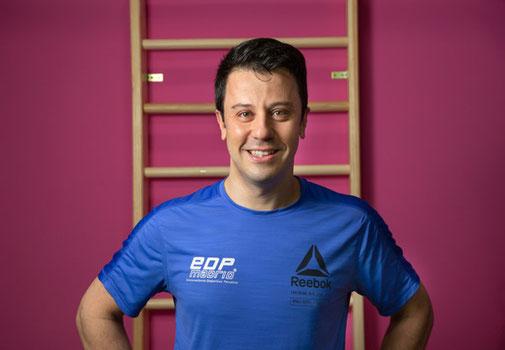 Juan, entrenador personal y fundador de EDP Madrid