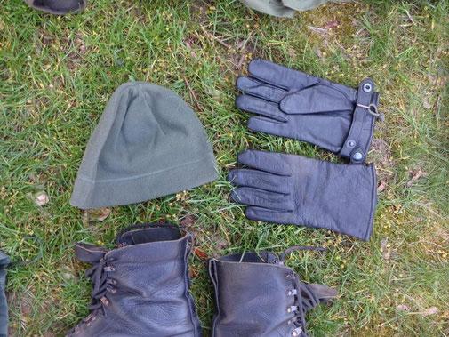 Mütze, Handschuhe