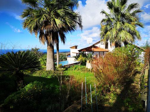 Panoramaansicht © Casa Bella Vacanze - Ferienwohnung in Spilinga nahe Tropea Kalabrien/Italien