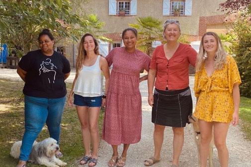 Philippe et Nathalie GIRET, propriétaire des yourtes du Béarn