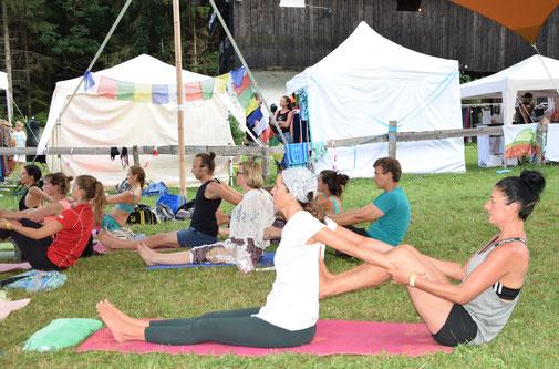 Yoga Provinz Bozen. Yoga Bozen. Yoga Meran.