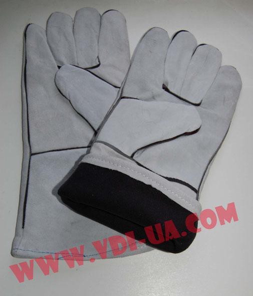 Перчатки сварщика, краги Vulkan с подкладкой