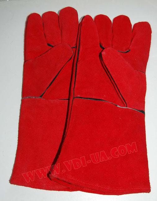 Перчатки сварщика, краги Triarma с подкладкой