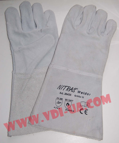 Перчатки сварщика, краги Nitras 20435