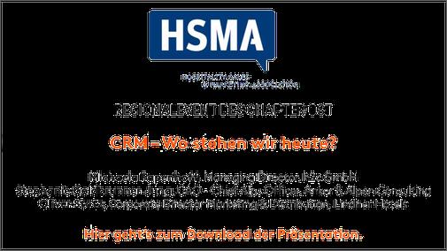 HSMA Regionalevent des Chapter Ost