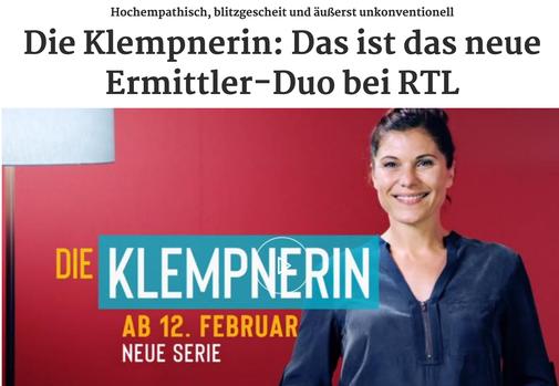 "YOGALUFT IN DER RTL-SERIE ""DIE KEMPNERIN"""