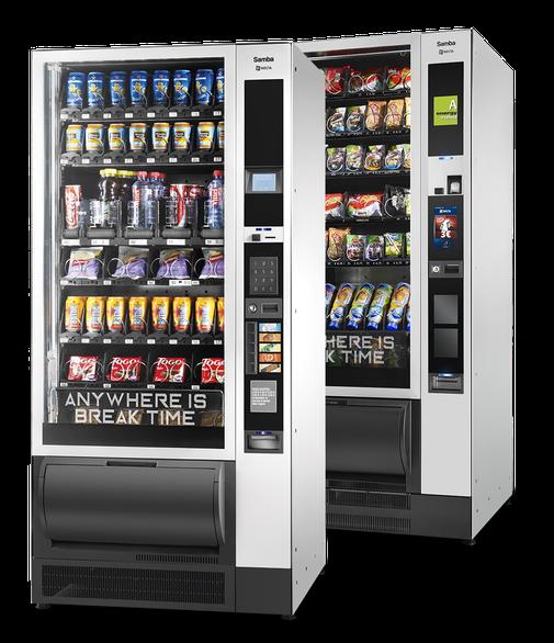 Automat für Snacks von Mahlzeit Catering