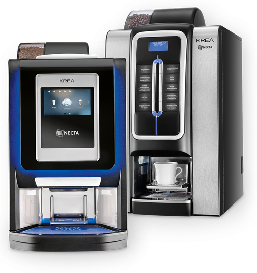NECTA KREA - Heißgetränkeautomaten von Mahlzeit Catering