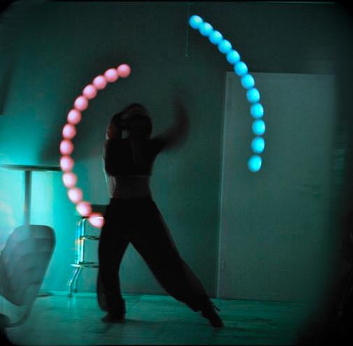 LED Poi Tänzerin Twi'lek Larp
