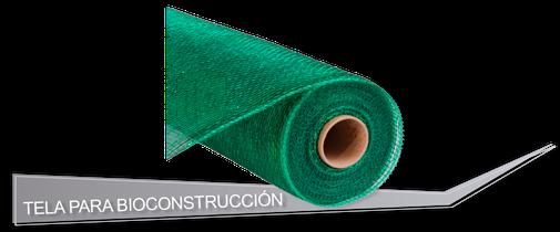Tela para Bioconstrucción