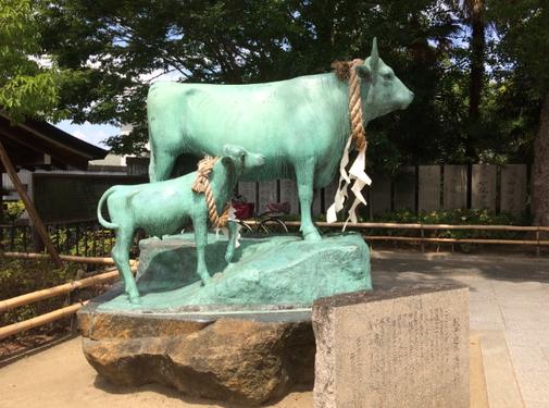 石切神社 本社(筆者撮影)