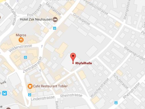 Bildausschnitt aus Google Map