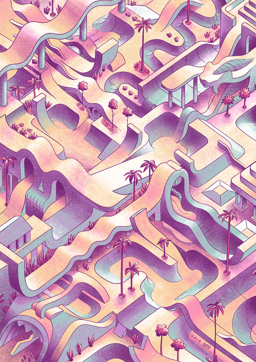Skatepark Illustration