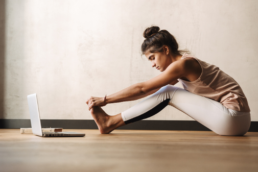 online Yoga, Yogalektionen live stream bei Hatha Yoga Wettingen
