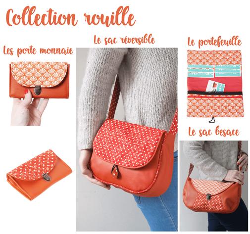 créateur sac à main fait main made in france portefeuille porte monnaie