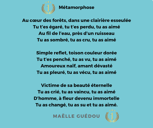 Concours Mythe Et Rite En Poésie 2019 Site De