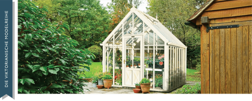 Das englische Gewächshaus, Modell Chelsea von Hartley Botanic
