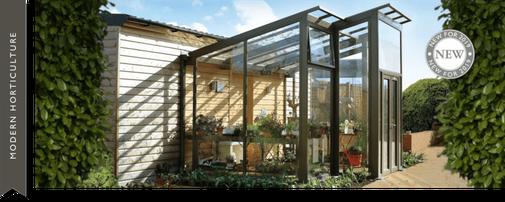 Gewächshaus, englisches Gewächshaus, Gewächshäuser, englischer Garten