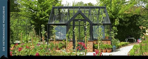 Gewächshaus Victorian Terrace. Eine Größe für jeden Garten