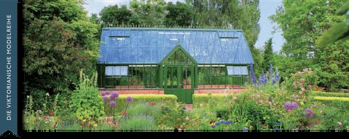 Englisches Gewächshaus, Manor, für die Parks im privaten