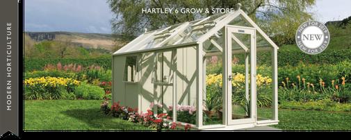 Gewächshaus der englischen Art, Hartley Botanic, englischer Garten