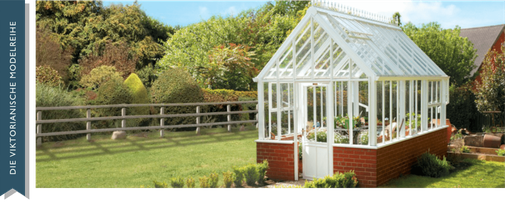 Englisches Gewächshaus, Grand Classic von Hartley Botanic
