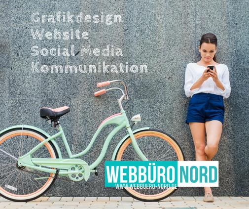 Webbüro Nord ist eine Kreativ Agentur mit der Spezialisierung auf Website, Social Media, Grafikdesign und Kommunikation.