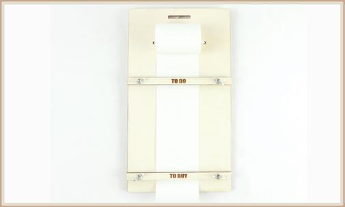 wiederbefüllbare ToDo Liste, Einkaufslite aus Holz, personalisierbar, mit Lasergravur