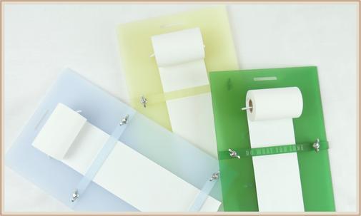 wiederbefüllbare ToDo Liste, Einkaufsliste aus Plexiglas, Acrylglas, in diversen Farben, mit personalisierbarer Lasergravur