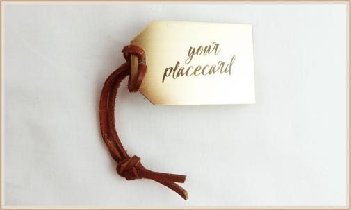 Platzkarte, Namenskarte, Kofferanhänger, personalisierbar