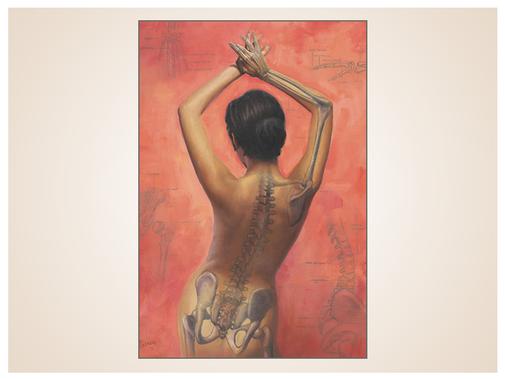 inna-bredereck-auftragsmalerei-aktmalerei-skelett-frau-knochen-kunstwerk