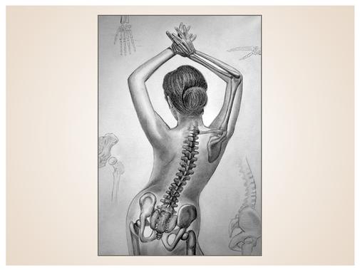 inna-bredereck-auftragsmalerei-aktmalerei-skelett-knochen-frau-aktgemaelde-kunstwerk
