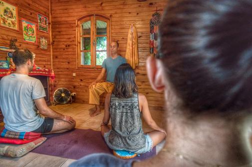 Méditation à Maison Kailash