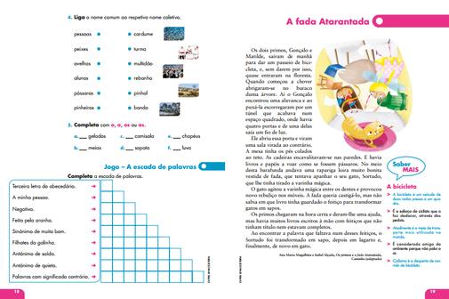 Livro de fichas Vamos de férias! Português 2º/3º Ano