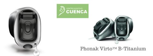 Phonak Virto B Titanium, el diminuto y resistente audífono de Phonak.